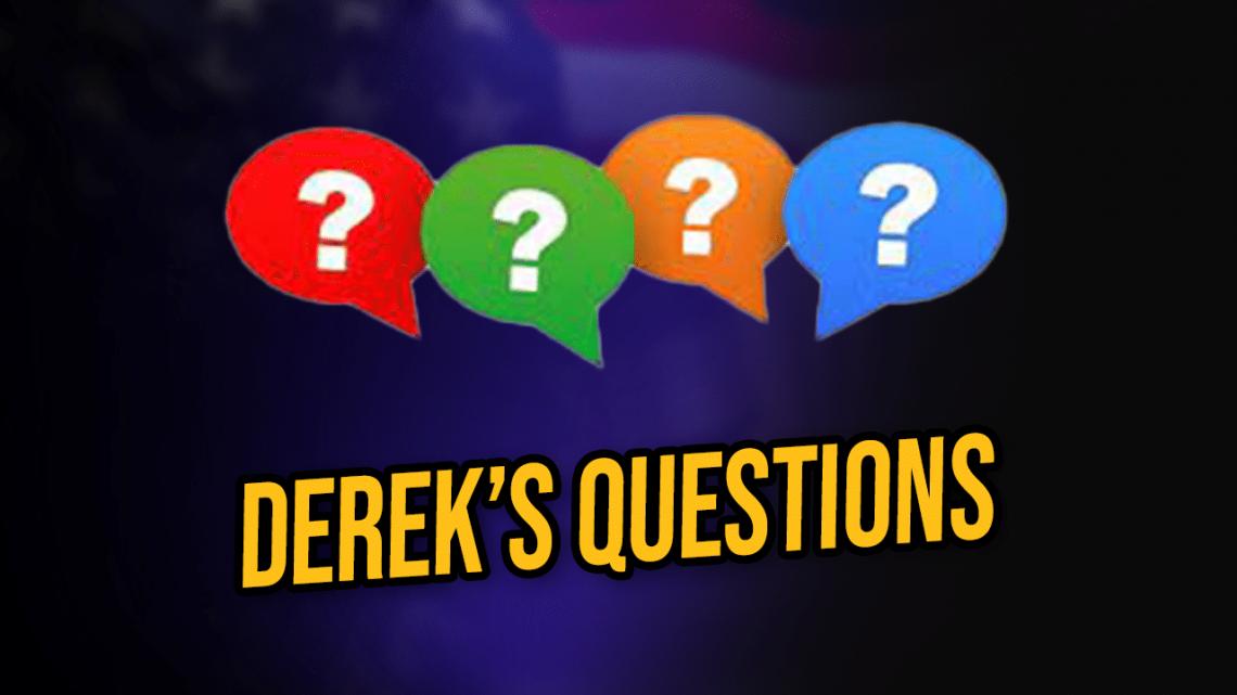 derek questions