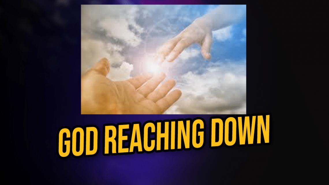 god reaching down