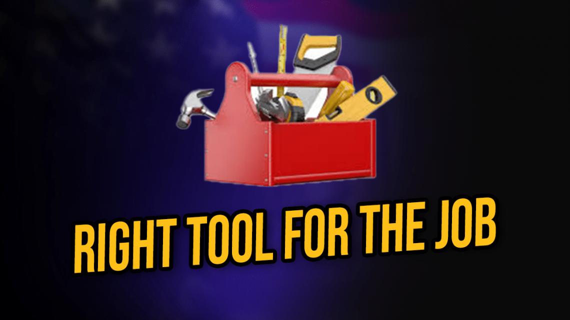 tool for job
